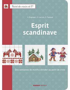 Esprit scandinave - Des centaines de motifs à broder au point de croix