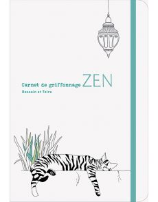 Carnet de griffonnage Zen