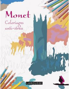 Monet - Coloriages anti-stress