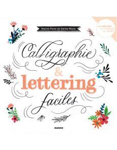Calligraphie et lettering faciles - Livre de Marine Porte de Sainte-Marie