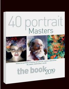 40 Contemporary Great Masters of PORTRAIT PAINTING - The definitive book
