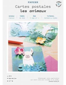 Les French Kits - Cartes Postales - Les animaux