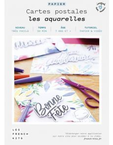 Les French Kits - Cartes postales - Les aquarelles