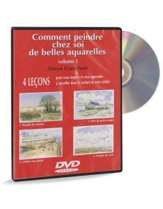 Comment peindre chez soi de belles aquarelles - DVD vol.1, par Alwyn Crawshaw