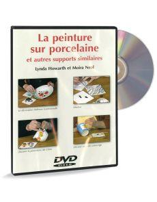 La peinture sur porcelaine, faïence, céramique, verre - DVD vidéo
