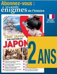 Abonnement 2 ANS Les Enigmes de l'Histoire