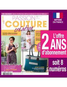 Abonnement 2 ANS Passion Couture Créative