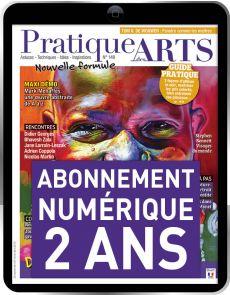 Abonnement 2 ANS à la version Numérique du magazine Pratique des Arts