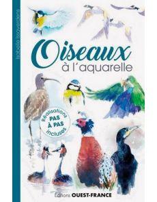 Oiseaux à l'aquarelle - Isabelle Issaverdens