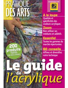 Le guide de l'acrylique - Collection Pratique des Arts