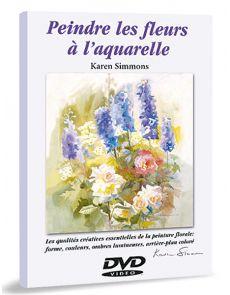 Peindre les fleurs à l'aquarelle - DVD