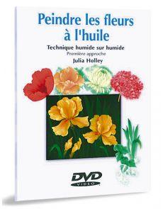 Peindre les fleurs à l'huile 1ère approche – DVD