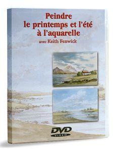 Peindre le printemps et l'été à l'aquarelle – DVD