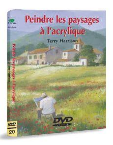 Peindre les paysages à l'acrylique – DVD