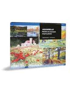 Aquarelle peindre des paysages d'après photos