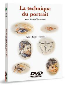 La technique du portrait - Huile, pastel, fusain – DVD