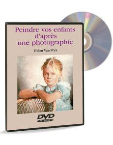 Peindre vos enfants d'après une photographie – DVD