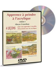 Apprenez à peindre à l'acrylique volume 1 – DVD