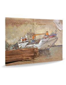 Un cargo aux marquises - Emmanuel Michel