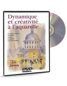 Dynamique et créativité à l'aquarelle – DVD