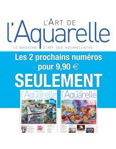 Abonnement DÉCOUVERTE L'Art de l'Aquarelle