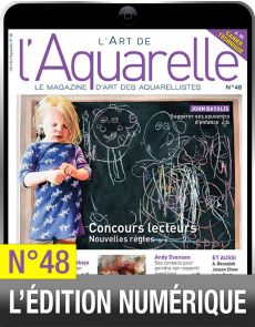 TELECHARGEMENT : L'Art de l'Aquarelle 48 en version numérique