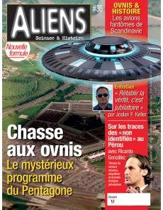 Aliens 36 - Chasse aux ovnis, le mystérieux programme du Pentagone