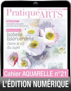 TÉLÉCHARGEMENT - Cahier spécial AQUARELLE 21 - Pratique des Arts