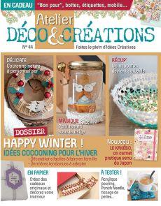 Atelier Déco et Créations 44 - Idées cocooning pour l'hiver