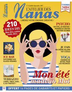 ADN - L'Atelier des Nanas numéro 5 - Mes tutos DIY bien-être, cuisine, mode, déco