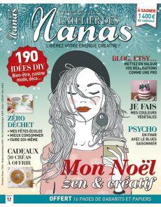 ADN - L'Atelier des Nanas numéro 6 - Mon noël DIY, zen et créatif