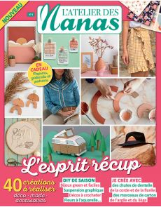 L'Atelier des Nanas 4 - Vos créations DIY spéciales récup'