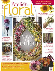 Atelier Floral n°47 - Vive la couleur !