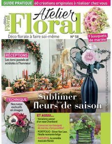 Atelier Floral 58 - Sublimer les fleurs de saison