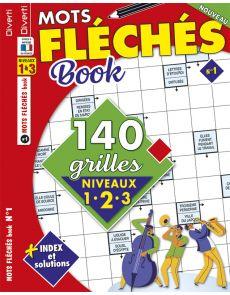 Mots Fléchés Book 01 - Niveaux 1-2-3