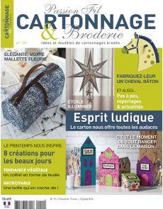 Passion Fil Cartonnage et Broderie n°19 - Des créations pour les beaux jours