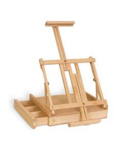 CHEVALET de table en bois avec tiroir