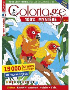 Coloriage 100% Mystère 14 - 15 000 formes à colorier
