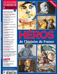 Héros de l'Histoire de  France - Les Collections de la Marche de l'Histoire - n°1
