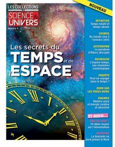 Les Collections Science et Univers n°4 - Les secrets du temps et de l'espace
