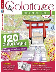 Coloriage Ambiance Zen 06