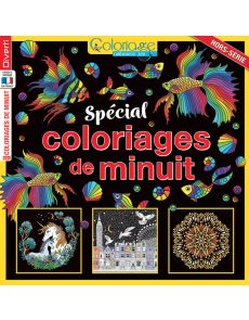 Coloriages de minuit - 60 pages à colorier