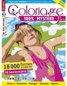 Coloriage 100% Mystère 13 - Avec un papier plus épais !!!