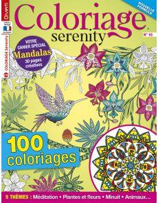 Coloriage Serenity 10 - en bonus votre cahier spécial Mandalas