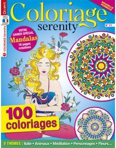 Coloriage Serenity 11 - Votre cahier spécial Mandalas en bonus