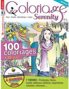 Coloriage Serenity 2 - Avec 100 coloriages et 32 stickers à colorier