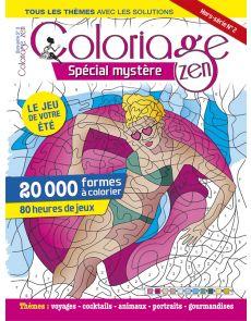 Spécial Mystère - Hors-série n°2 de Coloriage Zen
