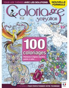 Coloriage Sensation n°8 - Peintures et lignes mystère, points à relier, coloriages classiques