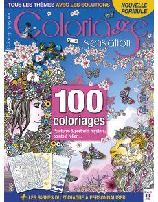 Coloriage Sensation n°10 - Peintures et portraits mystère, points à relier
