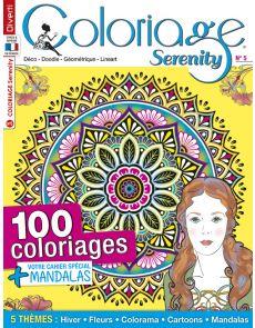 Coloriage Serenity 05 - 100 coloriages + votre cahier spécial Mandalas